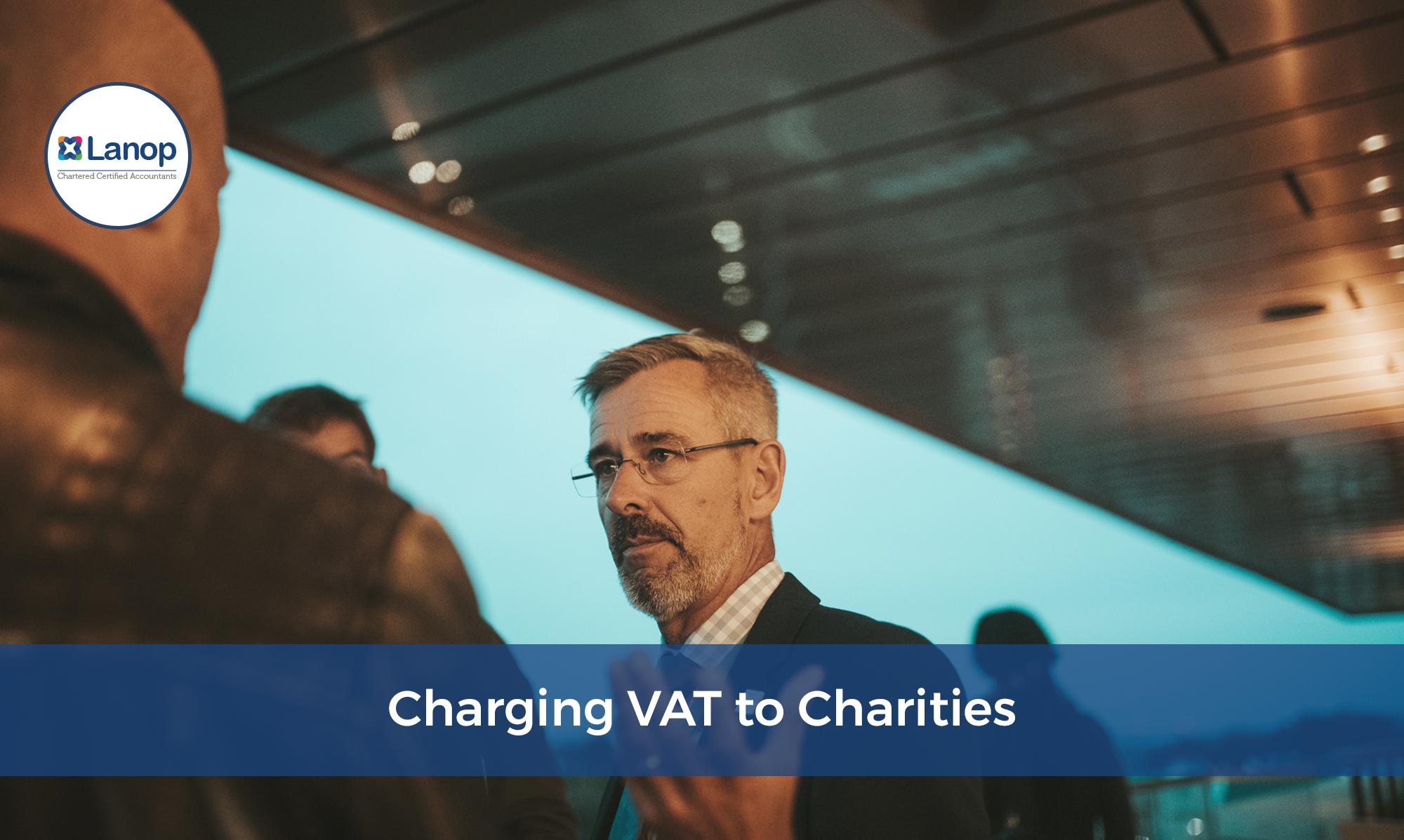 Charging VAT to Charities